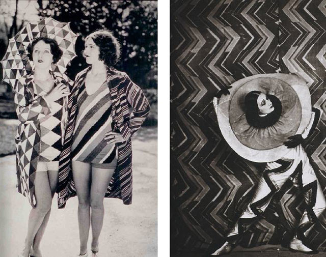 Sonia Delaunay costumes and sets for the ballet