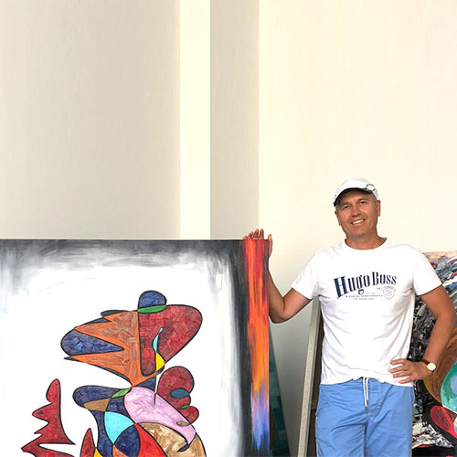 Gheorghe Virtosu - Artist at Virtosu Abstract Art Gallery