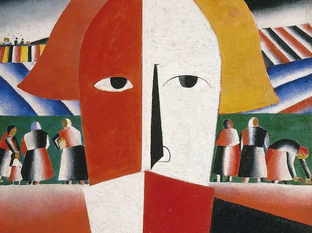 Kazimir Malevich painting