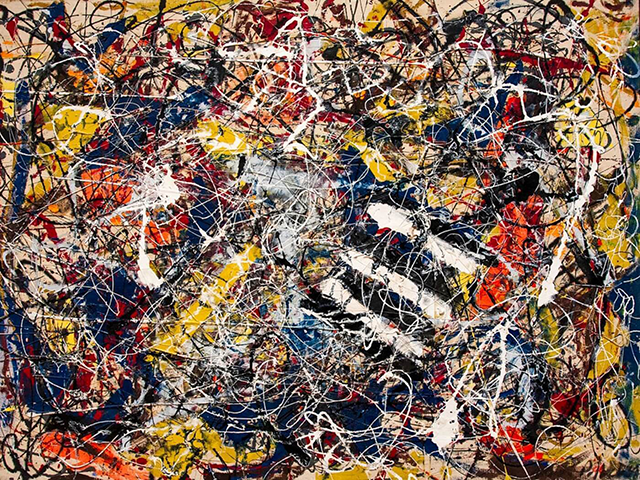 Pollock's 1948 Number 17A Expensive abstract art