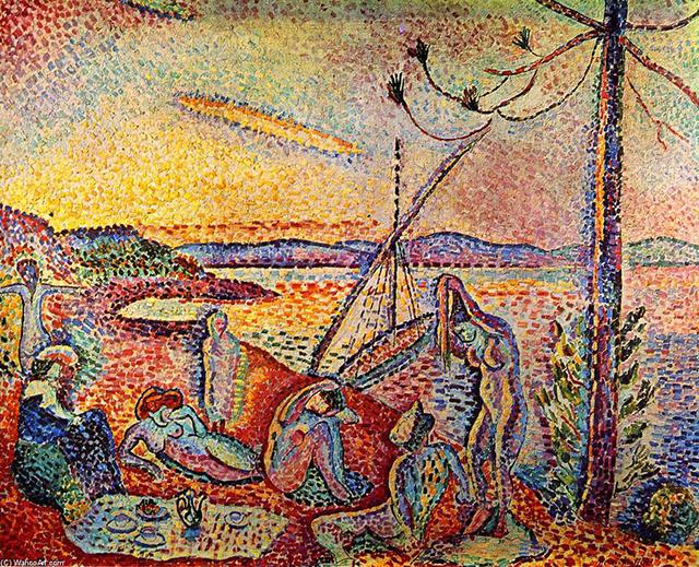 Henri Matisse's Luxe, Calme et Volupté