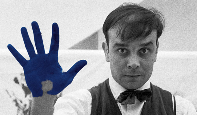 Yves Klein famous abstract artist
