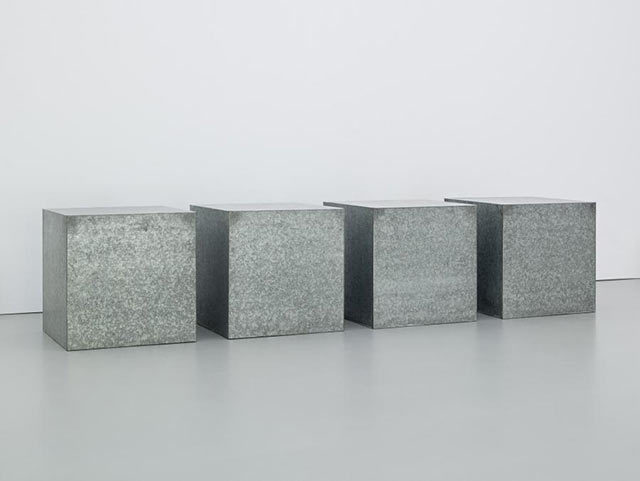 Donald Judd –Galvanized Iron 17, 1973