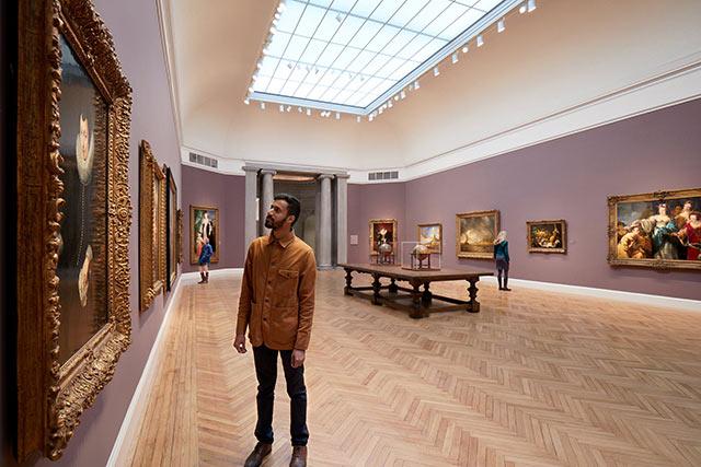 Fine arts museums of San Francisco Inside