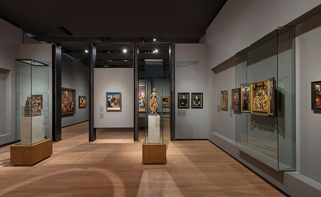 Montreal Museum of fine arts Inside