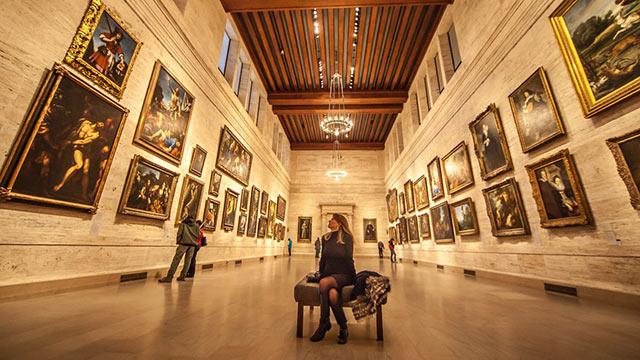 Museum of fine arts Boston Inside