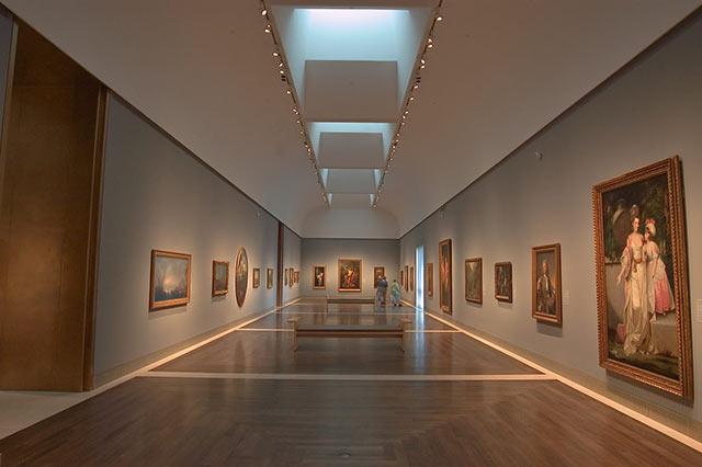 Museum of fine arts Houston Inside