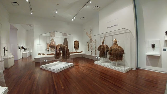 Utah museum of fine arts Inside