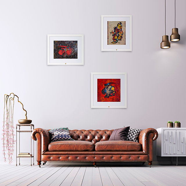 The Focal Point Creative Ways to Arrange Artwork at Home