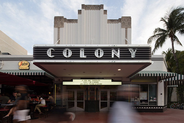 the Colony Theater