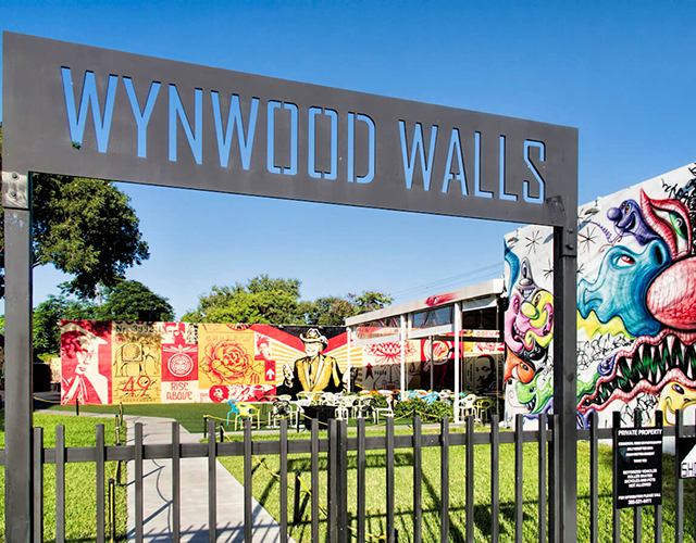 The Wynwood art district in Miami