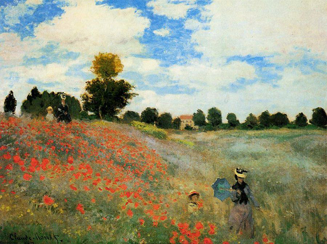 Coquelicots (Poppy Field) (1873)