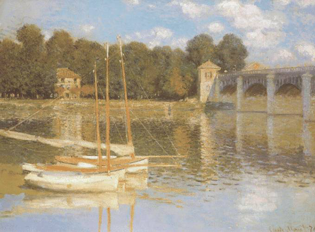 The Bridge at Argenteuil (1874)
