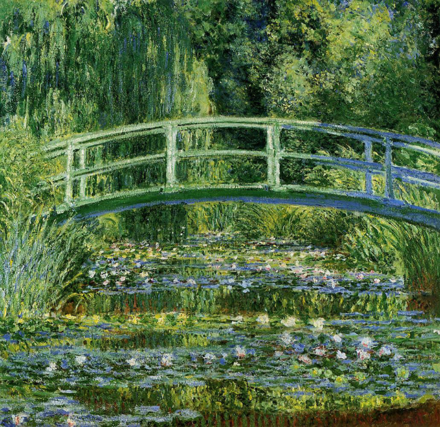 The Water Lily Pond (1899)