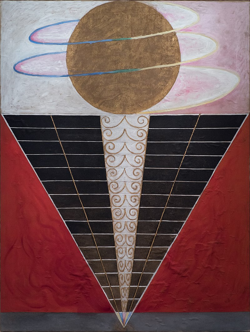 Group X, No. 2, Altarpiece, 1915 Hilma af Klint paintings for the future best abstract artists modern art