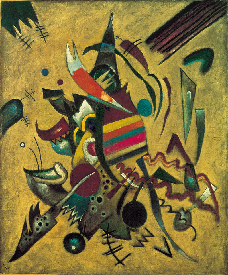 Wassily Kandinsky modern abstract art meaning