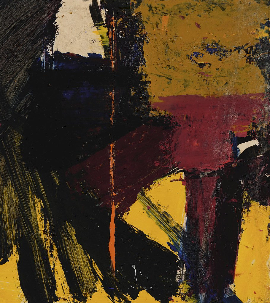 Untitled, 1959 Franz Kline  modern art