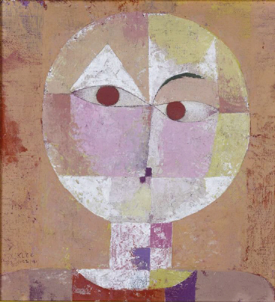 Senecio, 1922 Paul Klee best abstract artists Abstract Art Artists modern art