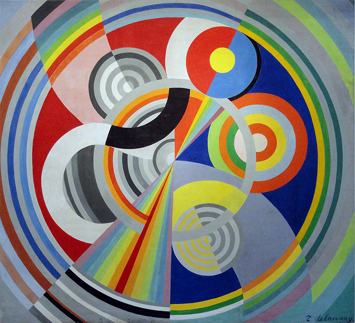 1938, Rythme n°1  Robert Delaunay best abstract artists Abstract Art Artists modern art