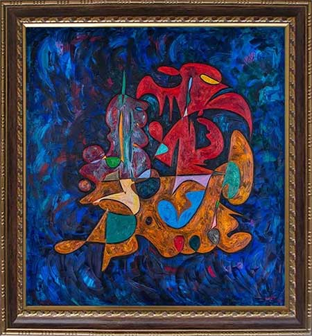 Alexander the Great beautiful abstract art paintings