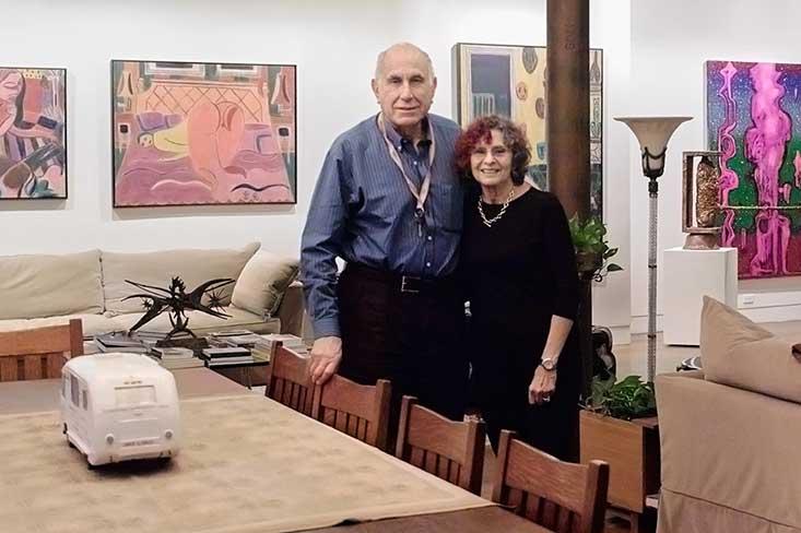 Susan and Michael Hort top art collectors new york