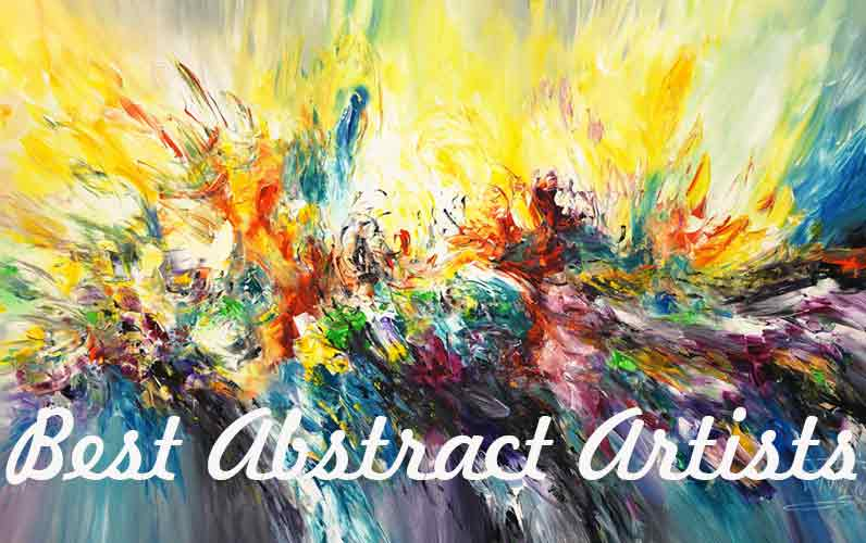 Best abstract artists